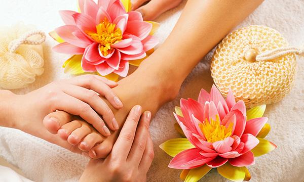 Fußrelax Massage im Kosmetikstudio in München
