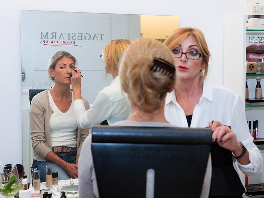 Make-up Beratung mit Visagistinnen aus dem Hause Eva Garden