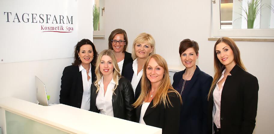 Team Tagesfarm Kosmetik Spa in München Solln
