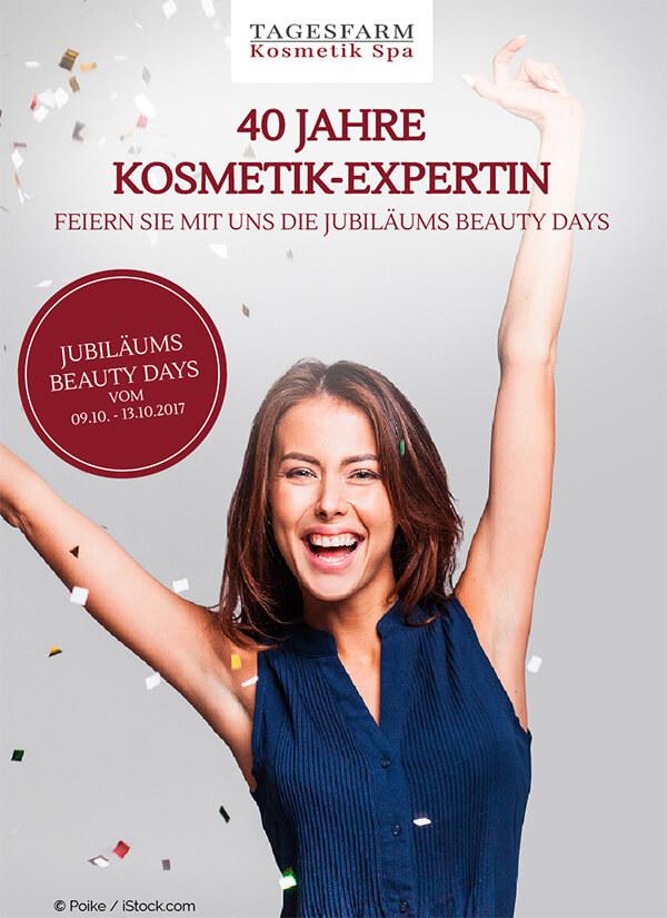 Jubiläumsheft Tagesfarm Kosmetik Spa in München-Solln