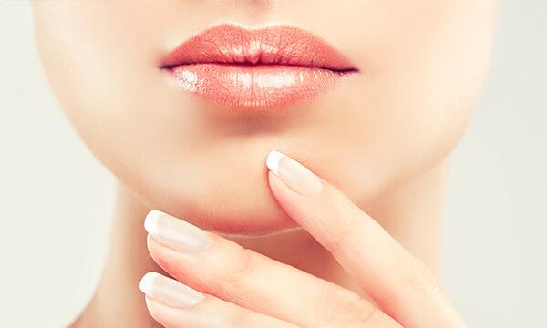Lippenbehandlung im Kosmetikstudio München