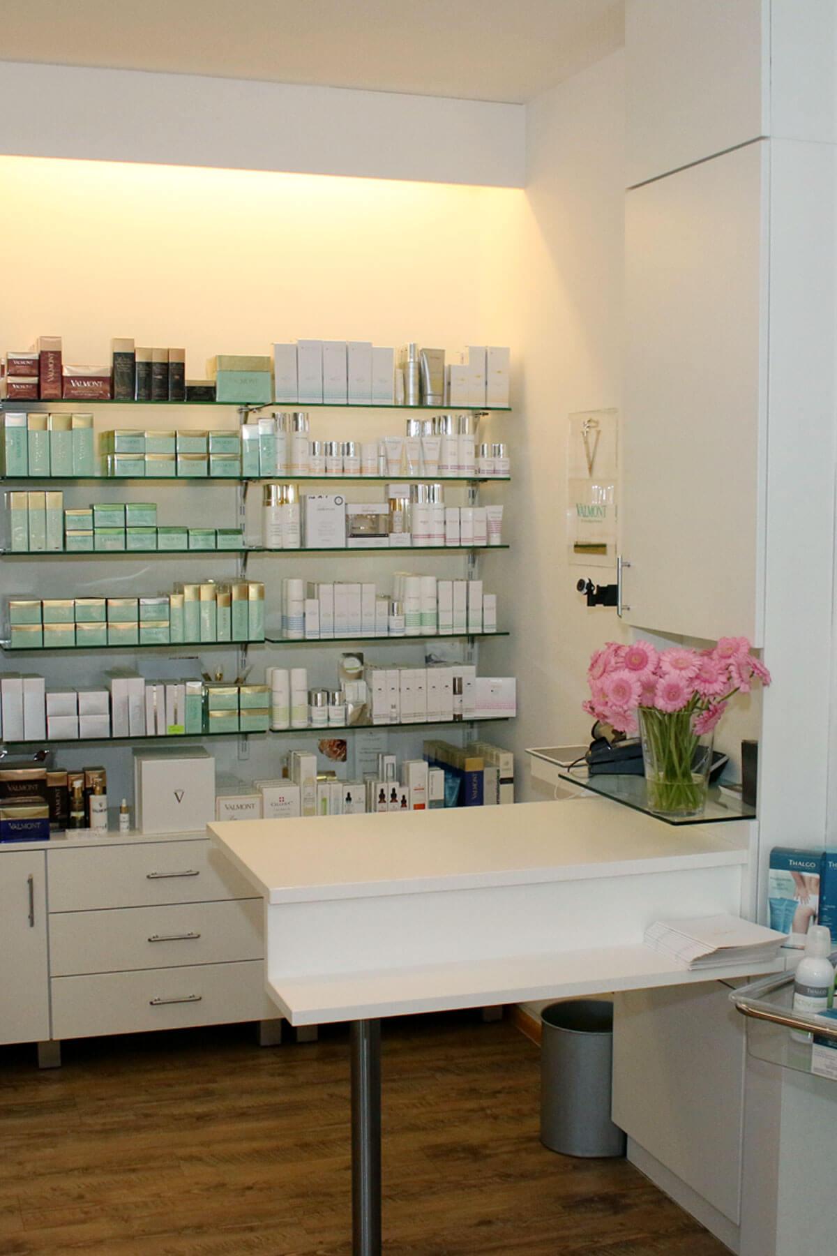 Ladengeschäft Tagesfarm Kosmetik Spa in München