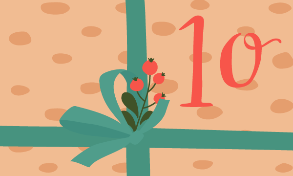 Adventskalender Tür 10